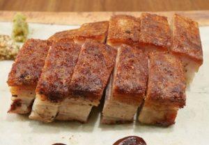 広東風豚バラ肉の焼き物